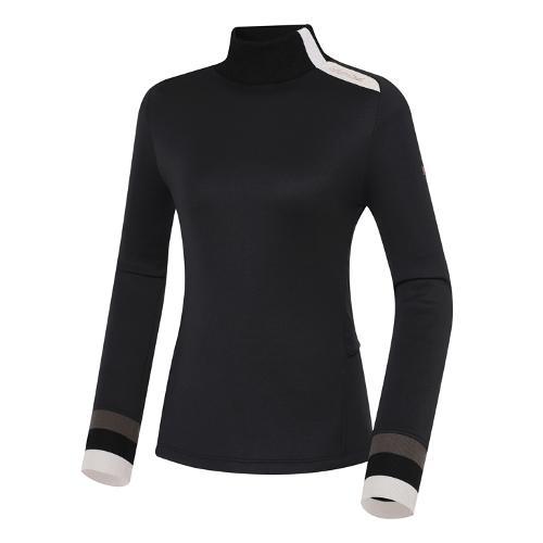 [와이드앵글] 여성 WL 하이브리드 하이넥 긴팔 티셔츠 L WWW21202Z1