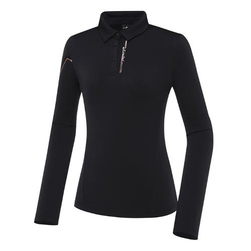 [와이드앵글] 여성 WL 웰딩 포인트 폴로 긴팔 티셔츠 L WWW21203Z1