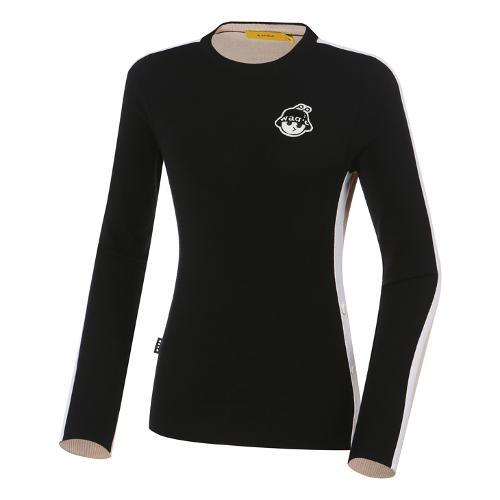 [와이드앵글] 여성 WG 컬러반전 풀오버 스웨터 L WWU21K72Z1