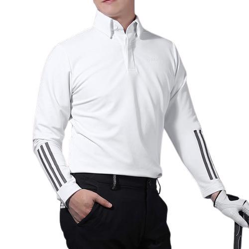 2021 아디다스 FW MG 소매로고 폴로 긴팔 티셔츠