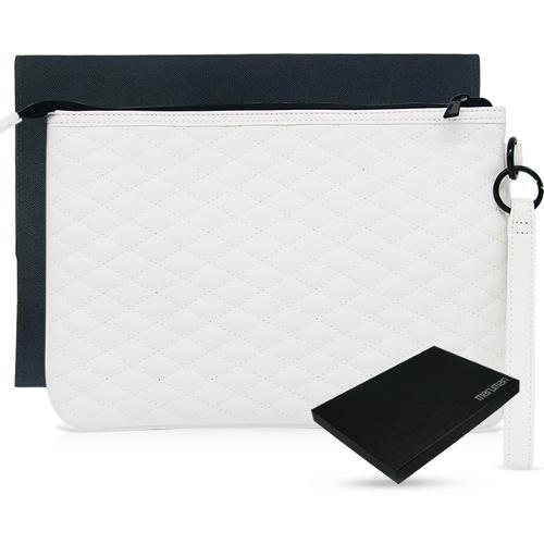 마루망 정품 2022년 프리미엄 프로젝션 퀼팅 클러치백