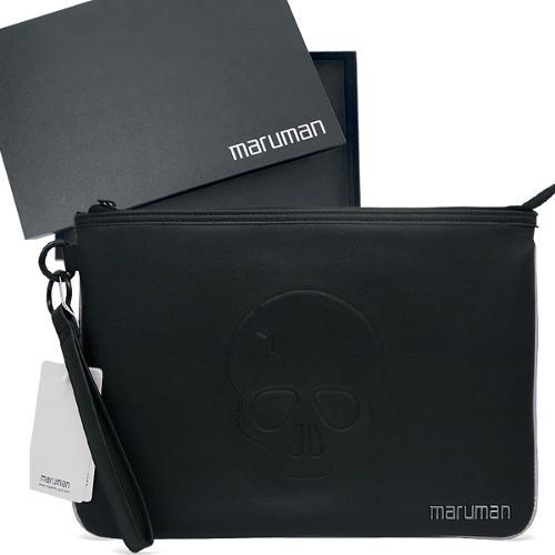마루망 2022년 프리미엄 프로젝션 퀼팅 스컬 클러치백