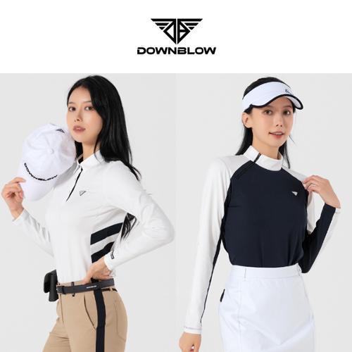 다운블로우 여성 간절기 스판 긴팔티셔츠 5종 택1