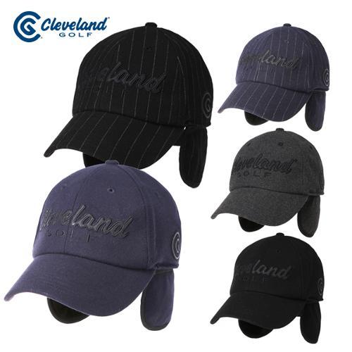 [클리브랜드골프] 로고 포인트 방한 귀달이 남성 골프모자/골프용품/골프캡모자_CGKMCP1232