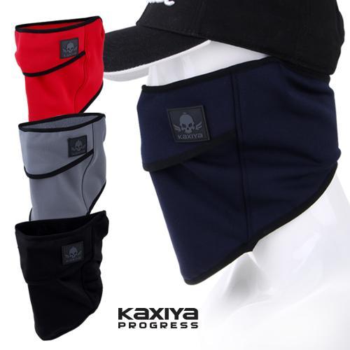 [KAXIYA] 카시야 남여공용 방한 벨크로 넥워머 겸용 마스크