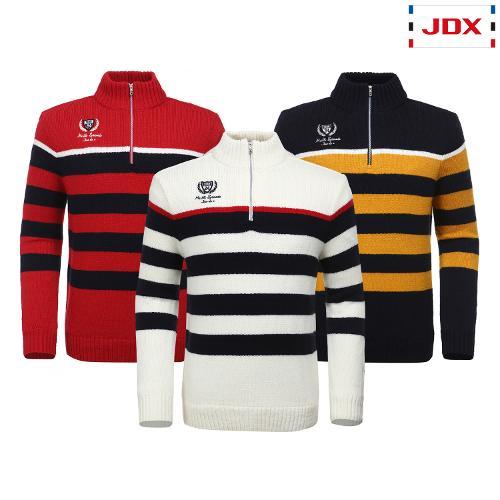 JDX 남성 스트라이프 반집업스웨터 3종 택1 X2QWSPM01