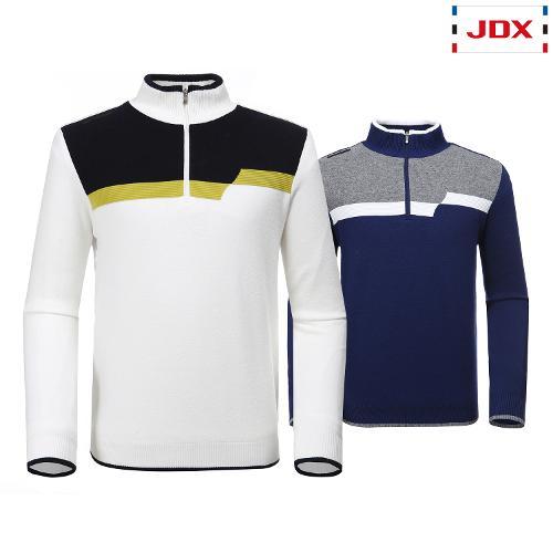 JDX 남성 반집업 스웨터 2종 택1 X1QWSPM01