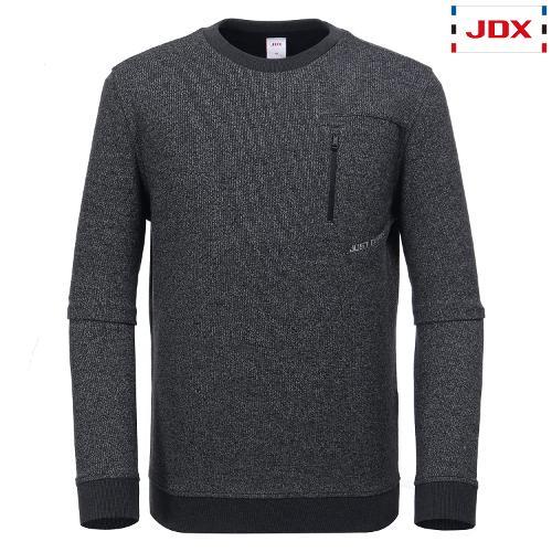 JDX 남성 방수지퍼포켓 맨투맨티셔츠 X3QWTLM02MG