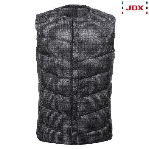 JDX 남성 내피프린트 베스트 X2QWWVM42GR