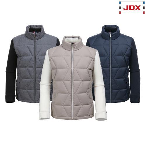 JDX 남성 하이브리드니트 다운점퍼 3종 택1 X2QWWDM42