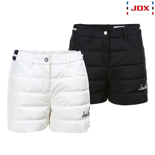 JDX 여성 자수 다운 하프 팬츠 2종 택1 X1QWPHW51