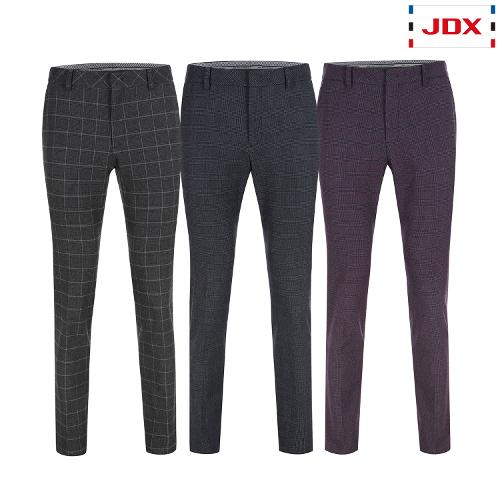 JDX 남성 기모선염체크 팬츠 3종 택1 X2QWPTM41