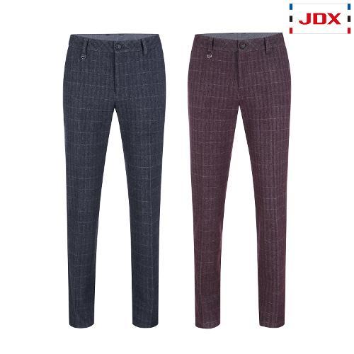 JDX 남성 선염체크 기모 팬츠 2종 택1 X2QWPTM06