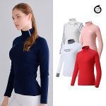 선덜랜드 따뜻하고 부드러운 여성 골프티셔츠 3종 택1