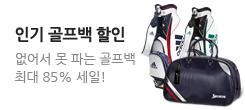 브랜드 골프백 초특가전